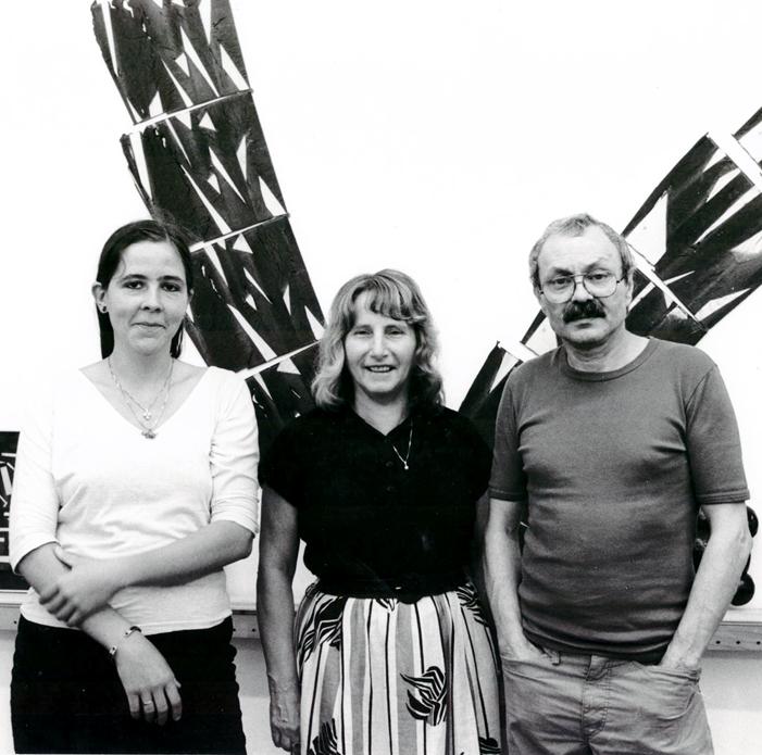 Margrit Zimmermann, Iris Gerber und Walter Vögeli
